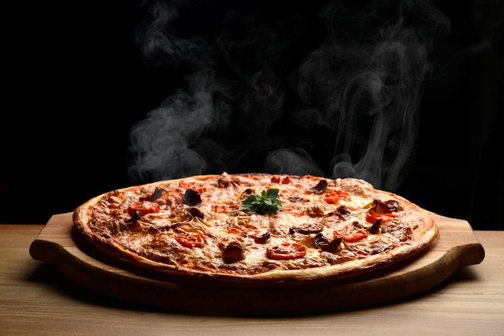 おいしいピザのにおい